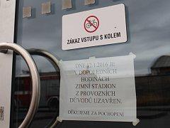 Hasiči na zimním stadionu v Uherském Ostrohu v úterý 12. ledna prověřovali podezření na přítomnost neznámých látek.