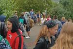 První školní den v Bílovicích - 1. září 2020