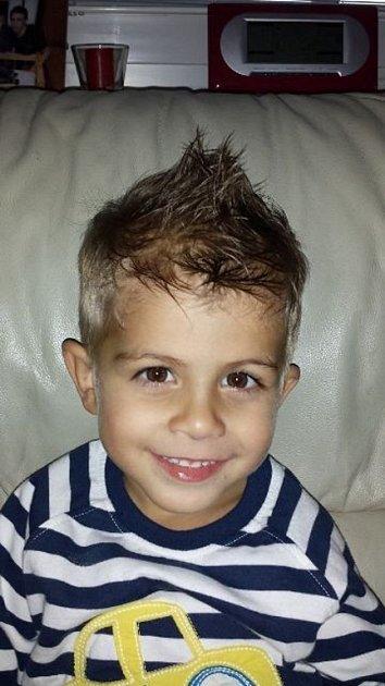 MATHIAS. Fotku čtyřletého Matýska ze Zlína poslala maminka Helena.