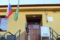 Volební místnost v Hostějově je na obecním úřadě. Ilustrační foto