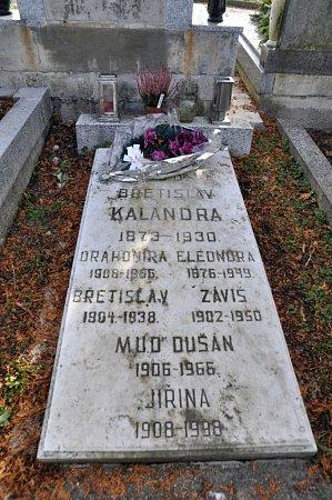 Městský hřbitov Vsetín: historik, estetik a publicista Záviš Kalandra (19021950), popraven vprocesu sMiladou Horákovou).