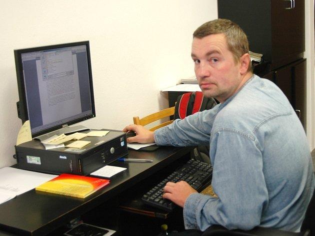 Jiří Kordovaník, redaktor Slováckého deníku.