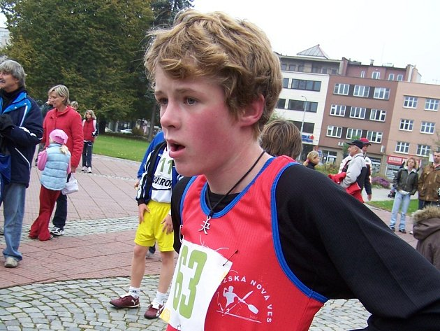 Filip Nikl doběhl ve Zlíně na druhém místě.