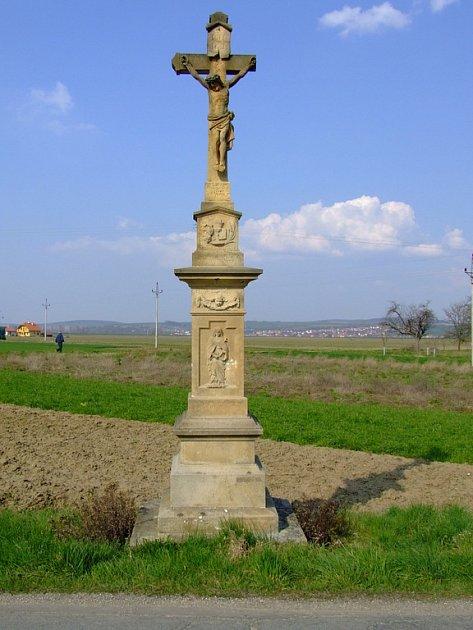 Kříž v Kněžpoli.