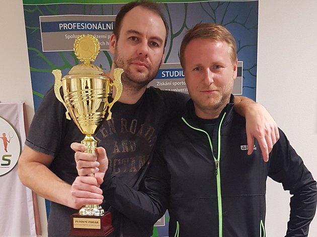 Vítěz Slovácké firemní tenisové ligy - tým Tradixu.