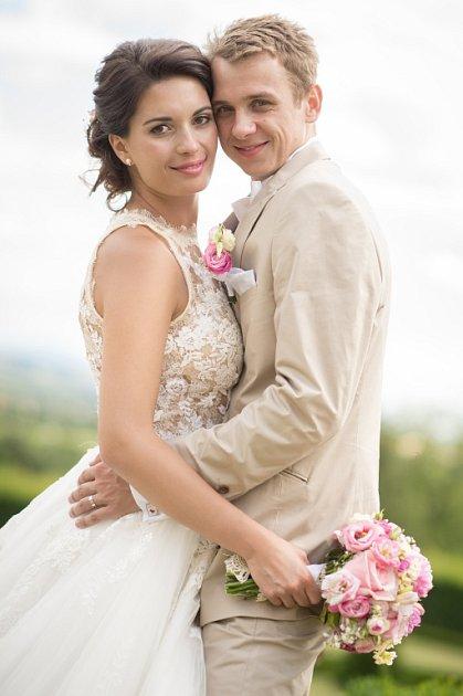Soutěžní svatební pár číslo 81 - Petr a Lucie Smolkovi , Hranice na Moravě