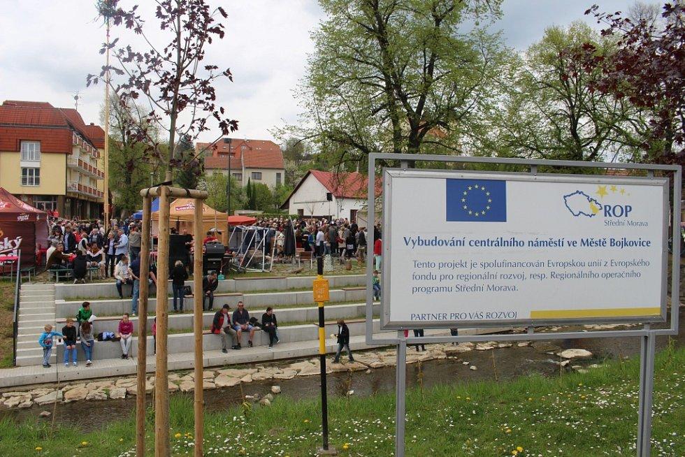 Tillichovo náměstí v Bojkovicích. Ilustrační foto.