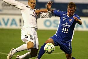 1. FC Slovácko - Baník Ostrava. Ilustrační foto.