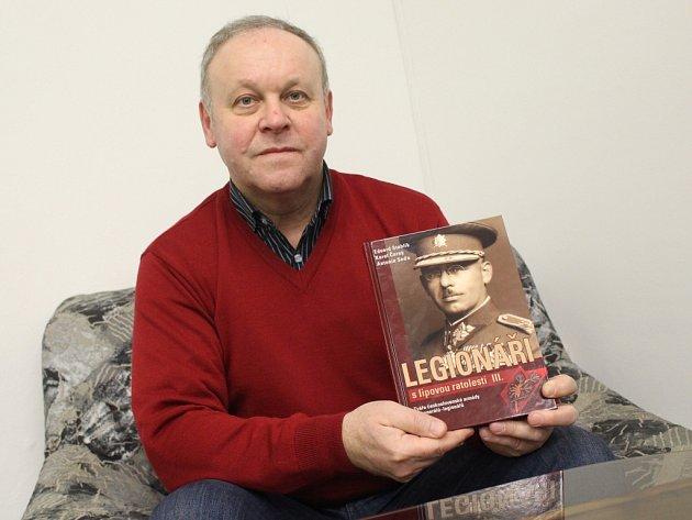 Antonín Seďa je jedním z autorů nové knihy Legionáři s lipovou ratolestí III.
