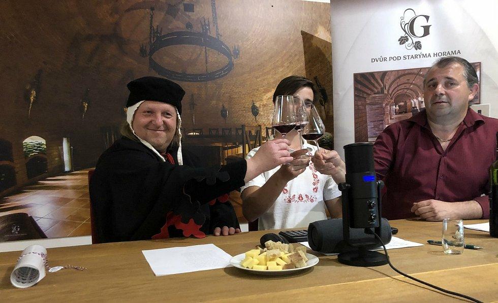 Poslední online degustace vín před rozvolněním Pod Starýma Horama