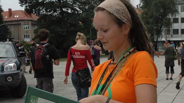 Mladí lidé mají na LFŠ zájem i o ekologické otázky.