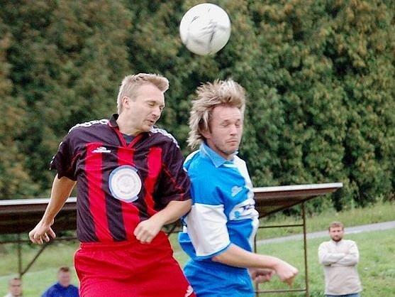 Fotbalisté Boršic zdolali v derby béčko Hluku.