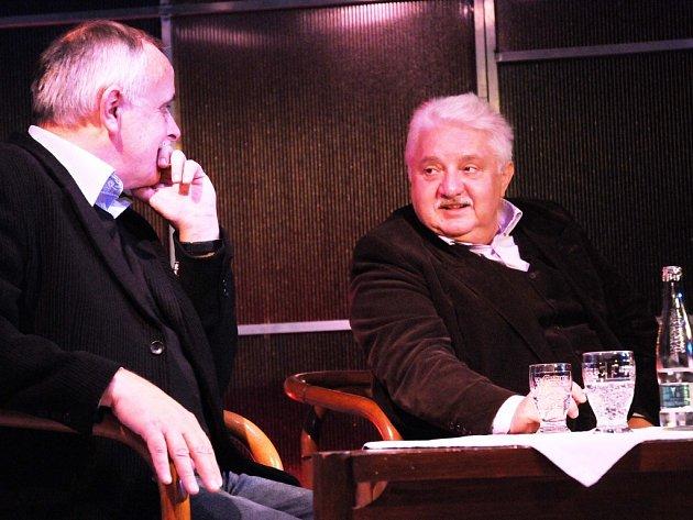 Hostem Hovorů G Jana Gogoly byl herec Marián Labuda.