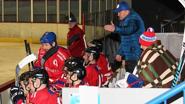Hokejisté Uherského Hradiště. Ilustrační foto.