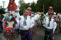 Jízda králů je pro Vlčnov každoročně velkým svátkem. Ilustrační foto.