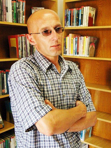 Ředitel Knihovny Bedřicha Beneše Buchlovana v Uherském Hradišti Radek Jančář.