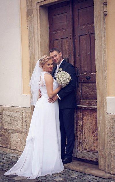 Soutěžní svatební pár číslo 129 - Tereza a Petr Matelovi, Prostějov, Bystřice pod Hostýnem