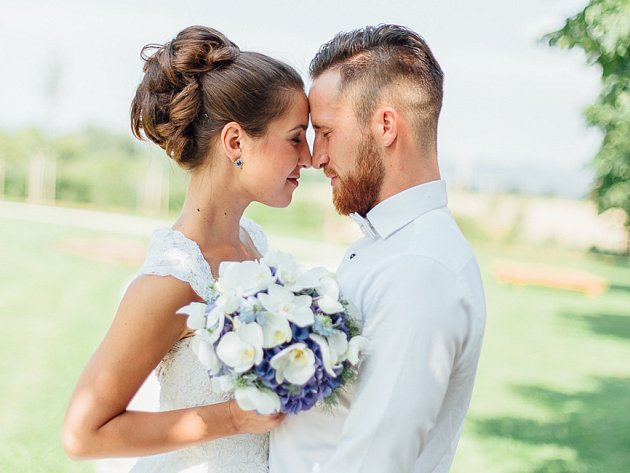 Soutěžní svatební pár číslo 56 - Doris a Lukáš Heinzovi, Litovel