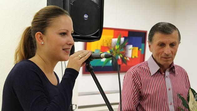 Petra Baroňová a Ashot Arakelyan.