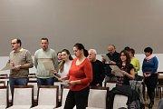 Koledami s Deníkem zahájili na Velehradě jednání zastupitelstva.