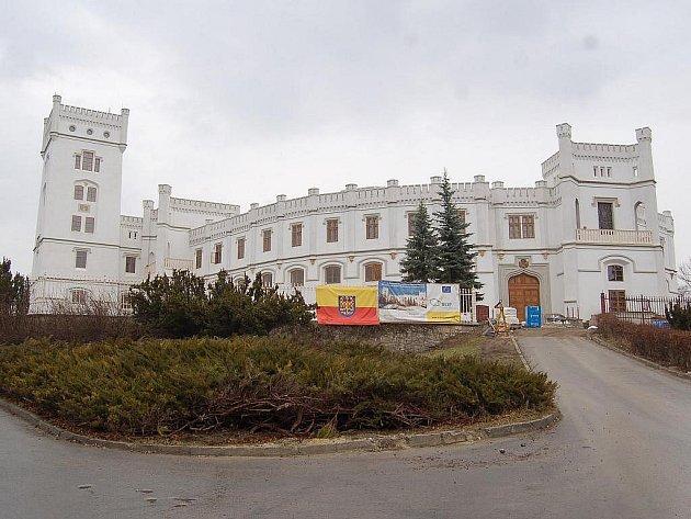 Zámek Nový Světlov. Ilustrační foto.