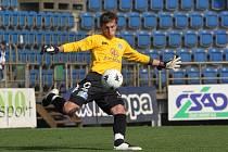 Brankář Slovácka Milan Heča věří, že se jeho týmu podaří nachytat Jablonec.