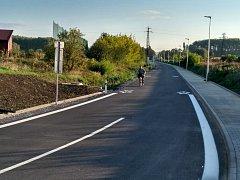 Nová příjezdová cesta do Sirnatých lázní v Ostrožské Nové Vsi nahradila železniční přejezd, na kterém se stalo několik smrtelných dopravních nehod.