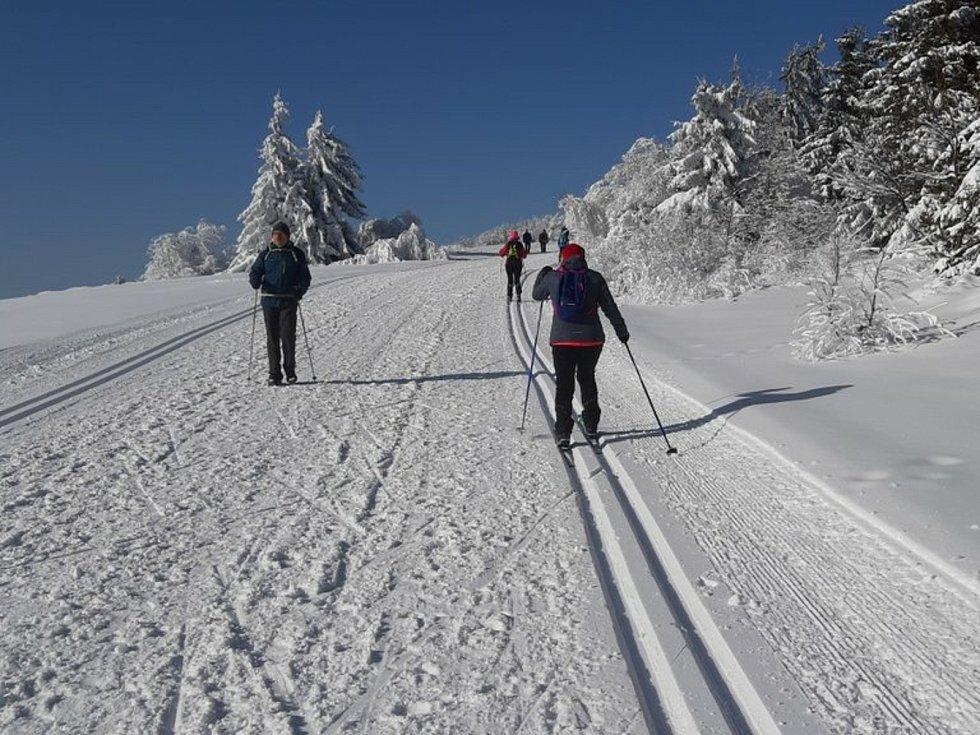 Asi nejvyhledávanější běžkařské trasy ve Zlínském kraji. Pustevny jsou výchozím bodem oblíbené oblasti.