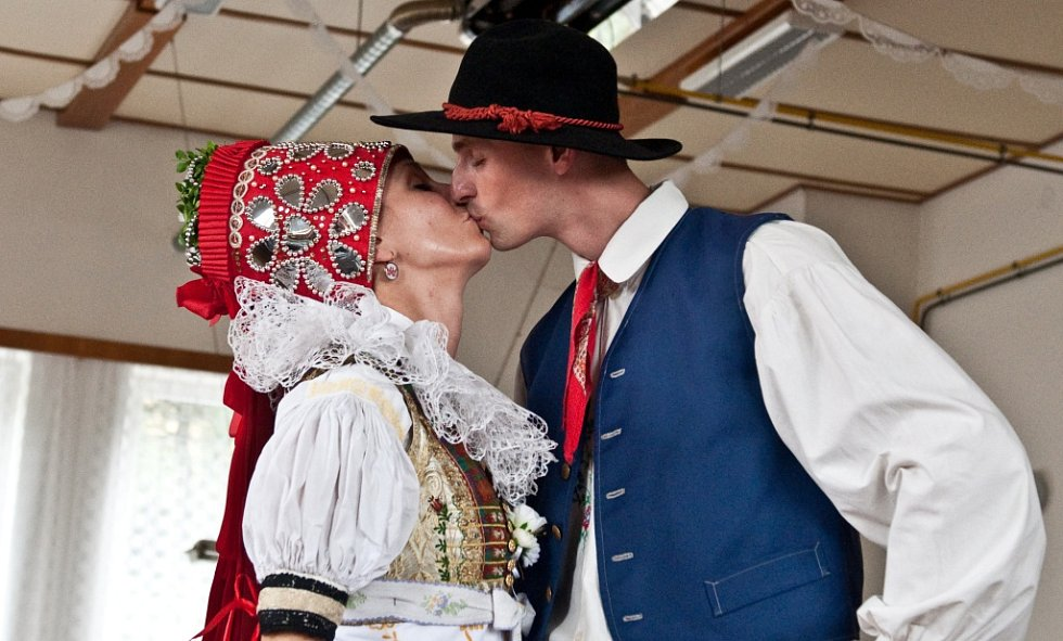 Soutěžní svatební pár číslo 210 - Daniela a Aleš Šebestovi, Tanvald