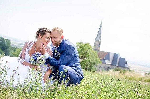 Soutěžní svatební pár číslo 111 - Michaela a Ondřej Vicanovi, Želatovice