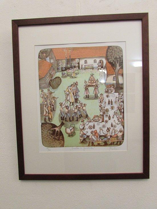 Kresby, grafiky, olejomalby a dřevěné plastiky, které spatřily světlo světa v rámci Vojšického plenéru v průběhu uplynulých 20 let, mohou až do 25. listopadu obdivovat návštěvníci uherskohradišťské Reduty.