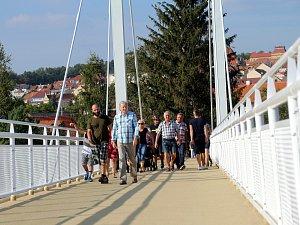 Slavnostní otevření lávky Všezvěd v Uherském Brodě