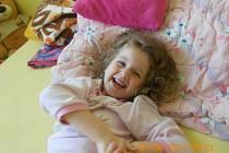 KARINKA. Fotografii své pětileté dcery poslala Veronika Zatloukalová z Olomouce.