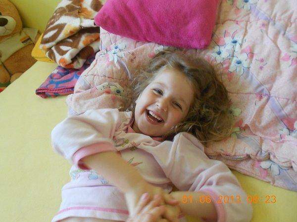 KARINKA. Fotografii své pětileté dcery poslala Veronika Zatloukalová zOlomouce.