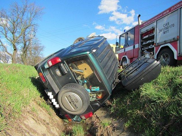 Dopravní nehoda u Jarošova