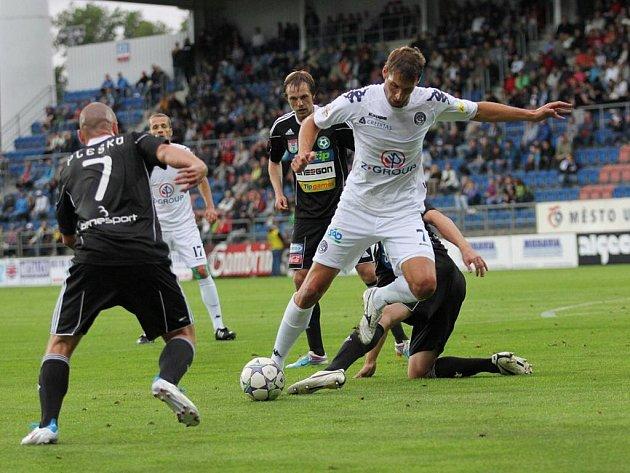 1. FC Slovácko - FK Příbram. Ilustrační foto