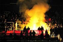 Hradišťští hokejisté uspěli v Prostějově v opravdu pekelné atmosféře. Domácím fanouškům se jejich výhra vůbec nelíbila.