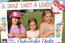 Sraz Lhot a Lehot v Ostrožské Lhotě.