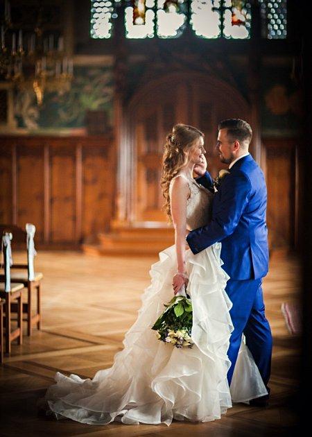Soutěžní svatební pár číslo 113 - Kateřina a Daniel Hrabinovi, Přerov