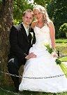 Soutěžní svatební pár číslo 133 - Veronika a Dalibor Klvaňovi, Prosenice.