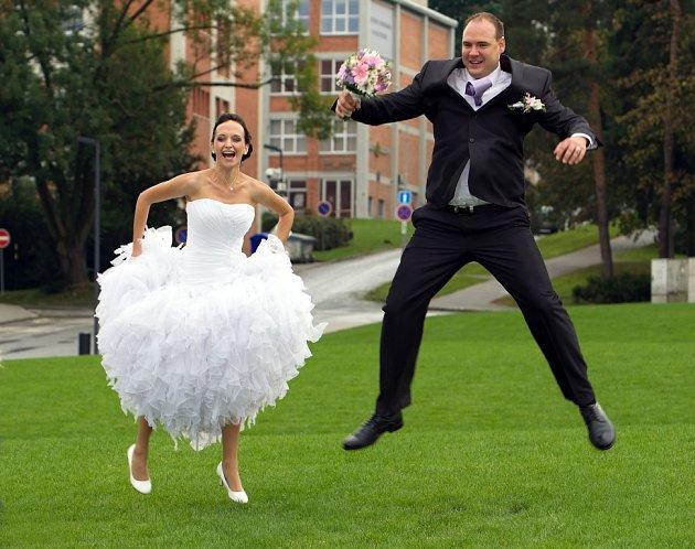 Soutěžní svatební pár číslo 159 - Petra a Jaromír Machačovi, Zlín