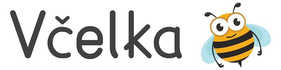 Aplikace Včelka v různých podobách. Zde logo.