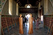 Pravoslavné ikony bulharské výtvarnice zdobí velehradský kostelík Cyrilka