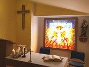 Žehnání nové bezbariérové kaple sv. Josefa se přesně o svátku všech Josefů 19. března konalo v uherskobrodské nemocnici s poliklinikou.