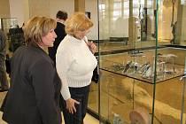 Památník Staré Město navštívilo asi padesát ředitelů a pedagogů základních a středních škol ze Zlínského kraje.