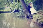 Soutěžní svatební pár číslo 9 – Lenka a Michal Schneiderovi, Olomouc.