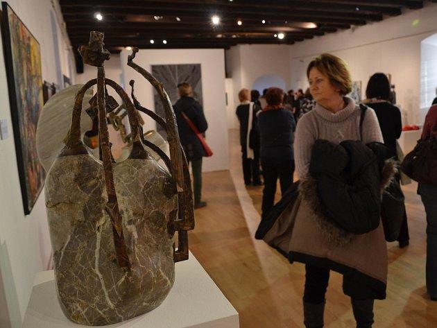 V Hradišti byla k vidění díla skutečných uměleckých osobností.