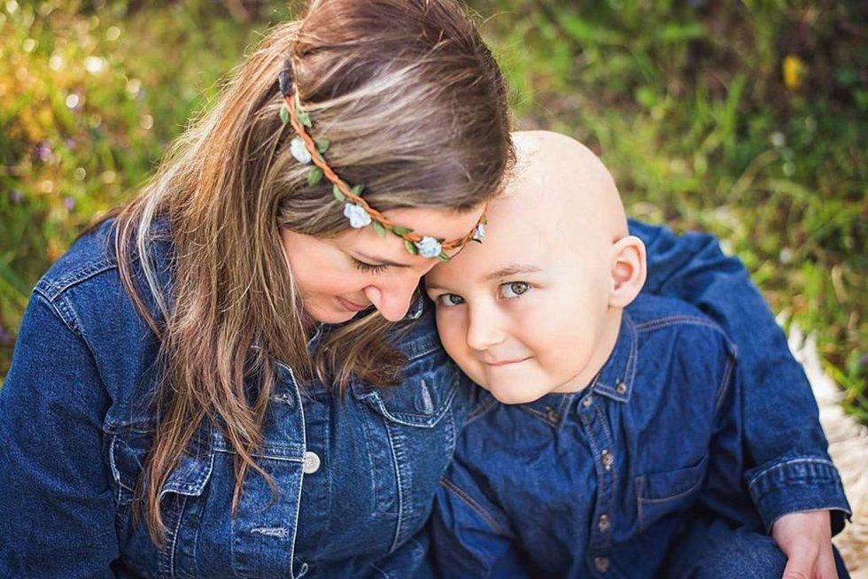 Lukáškovi zjistili leukémii v pěti letech.