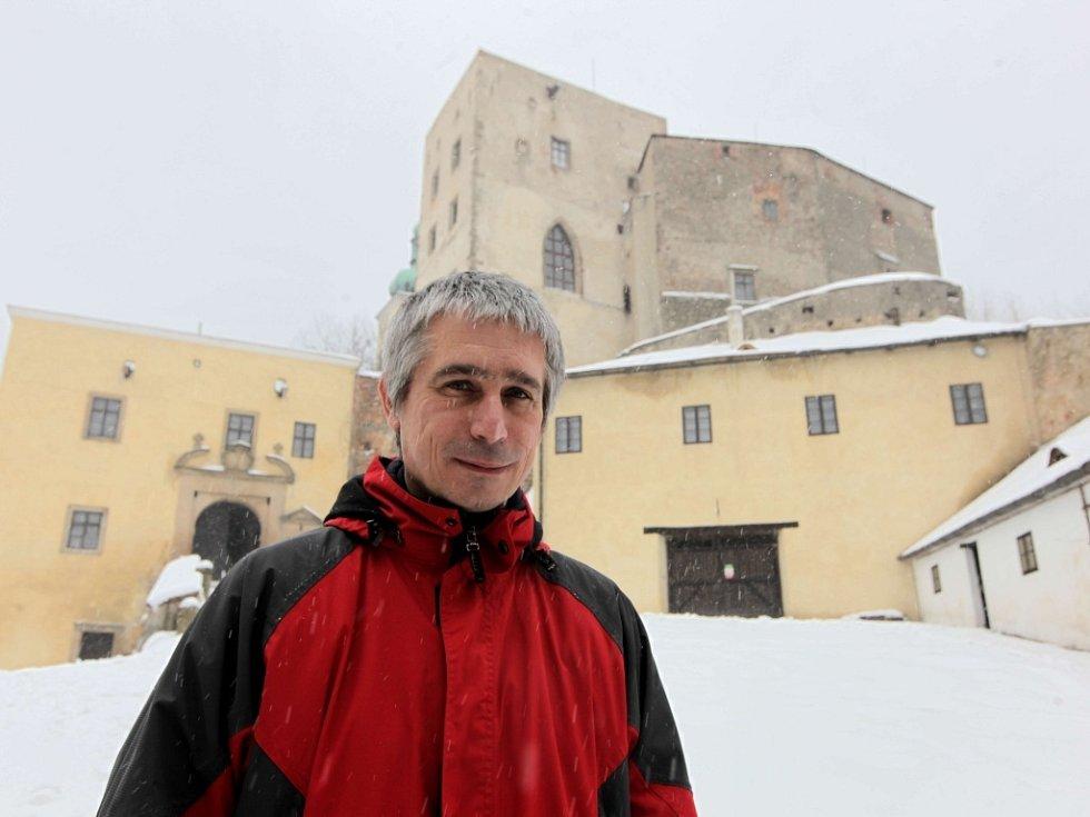 Kastelán Buchlova Rostislav Jošek. Ilustrační foto.