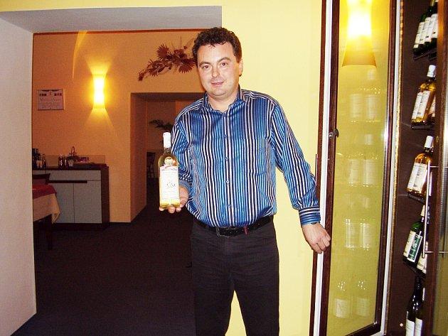 Pavel Ševčík má certifikát sommeliéra.